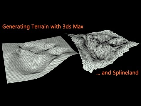 Generating Terrain with 3ds Max