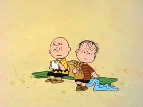 You're in love, Charlie Brown - Unrequited love