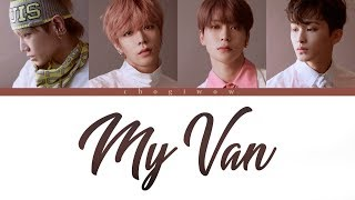 NCT 127 - 내 Van (My Van) (Color Coded Lyrics Han|Rom|Eng)