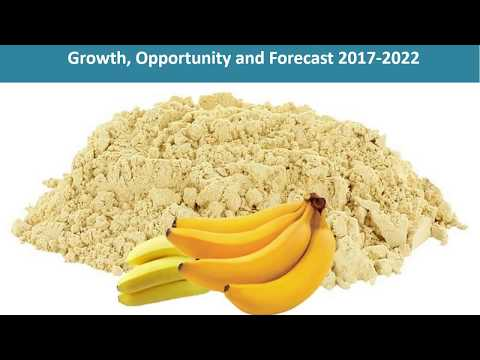 Banana Powder Industry Analysis, Price, Size, Share, Growth, Trends, And Forecast Report 2022