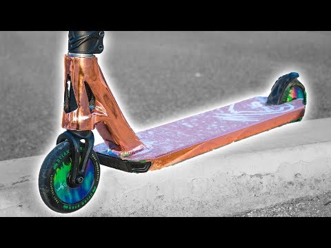 ROSE GOLD ENVY SCOOTER DECK WRAP! REVEAL*