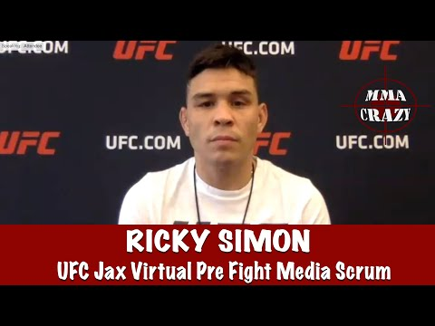 UFC Jax: Ricky Simon Talks Upcoming Fight On Ray Borg & No Longer Having His Mullet