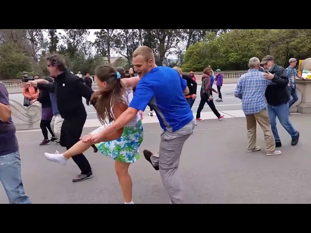 Over 20 Years of Free Dancing Lessons in Golden Gate Park!
