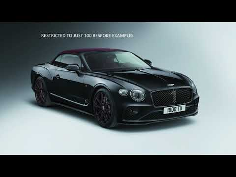 BENTLEY CONTINENTAL GT CONVERTIBLE NO. 1 EDITION BY MULLINER - QUICK REVIEW