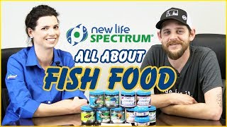 Hilary Jaffe Dishes Delicious Details About New Life Spectrum's Yummy Fish Foods