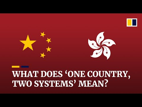 What does 'one country, two systems' mean?