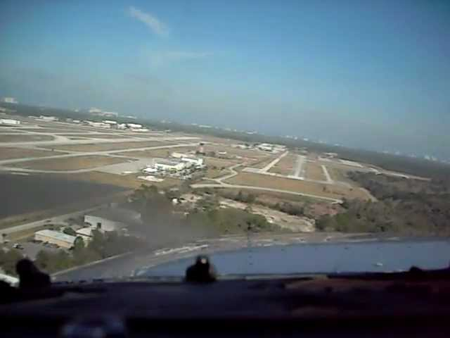 a step by step description of the process f landing a cessna 150 at the sonoma skypark airport