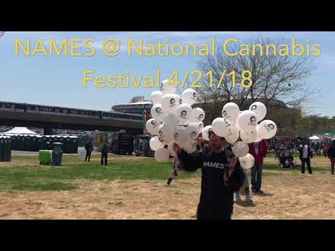 NAMES - National Cannabis Festival - Washington DC - RFK Stadium - 4/21/2018
