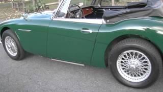 For Sale: 1967 Austin Healey 3000 BJ8 Test Drive - Gassman Automotive