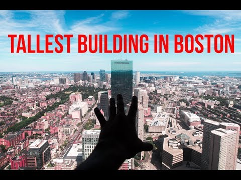 INSIDE THE TALLEST BUILDING IN BOSTON (CRAZY VIEWS)