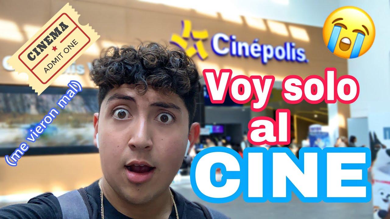 ir al cine solo es raro