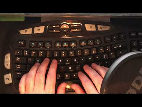 ASMR - Fast Typing! 100+ WPM (Words Per Minute) Clicking, Clacking, Tingles, Shivers