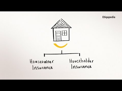 Etiqapedia - Chapter 2: Houseowner/Householder Insurance