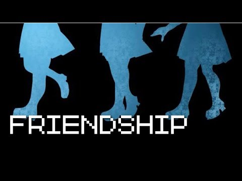 Friendship - May or may not involve a Yandere (RPG Maker/ All Endings) Manly Let's Play