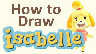 How To Draw Isabelle From Animal Crossing