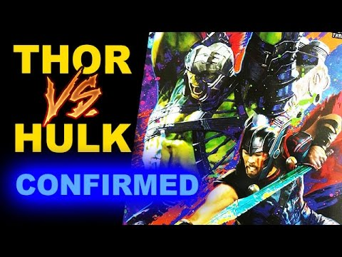 Thor Ragnarok THOR vs HULK Confirmed - Beyond The Trailer