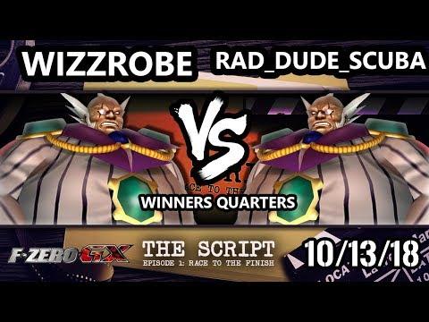 The Script -  rad_dude_scuba Vs.  Wizzrobe - F-Zero GX Winners Quarters