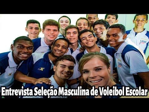 Entrevista Seleção Masculina de Voleibol Escolar