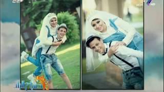 «محمد وأمنية».. عريس وعروسة استغنوا على البدلة والفستان بملابس تانية مثيرة للجدل