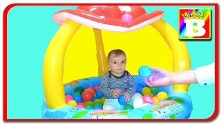 Anabella and BALL PIT IN OUR HOUSE!! Playground for kids  Anabella show on Bogdan`s Show