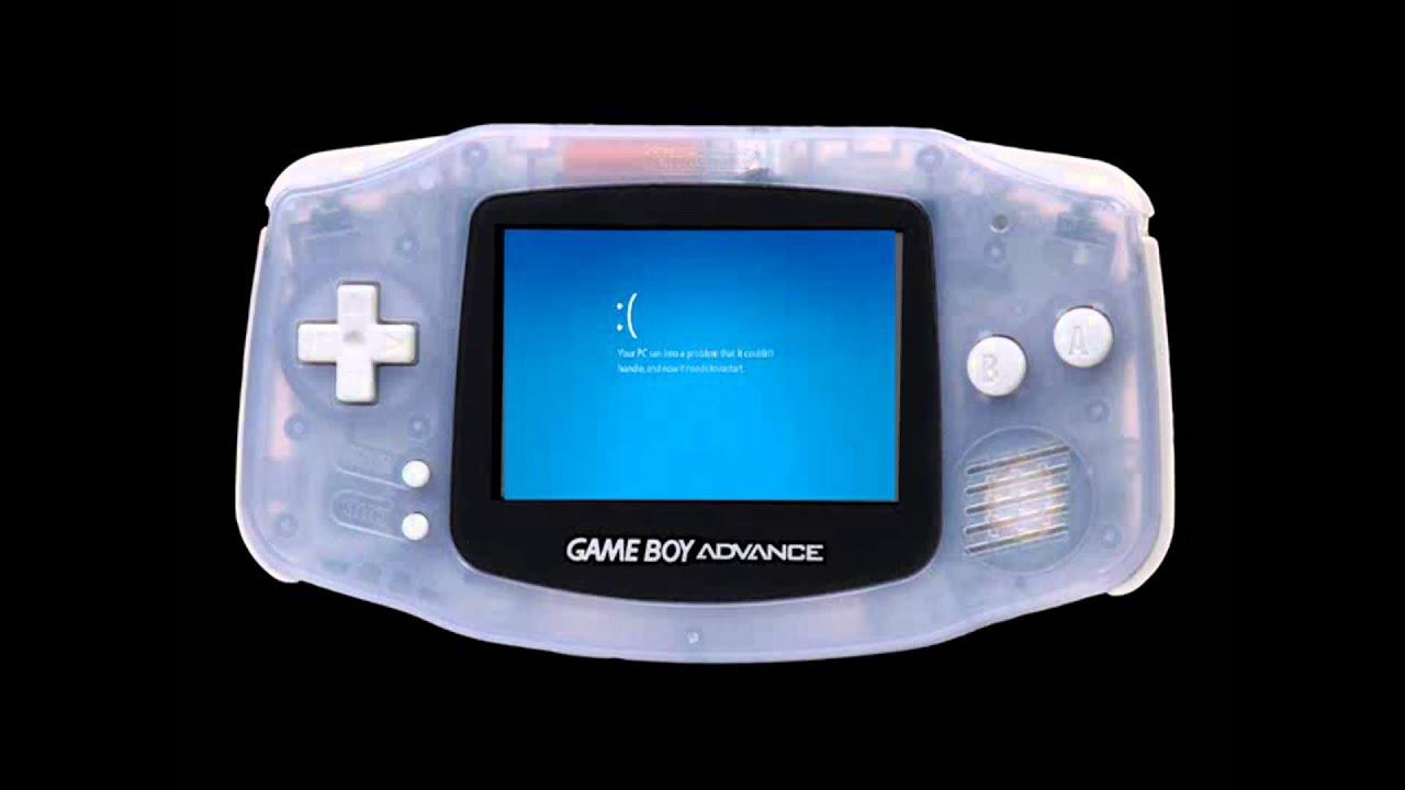 Game Boy Advance Crash Sound