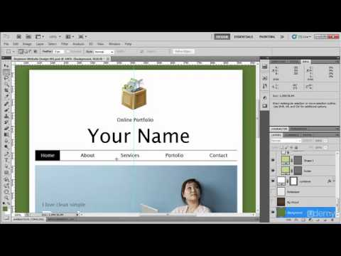 Beginner Photoshop to HTML5 and CSS3-Part 4