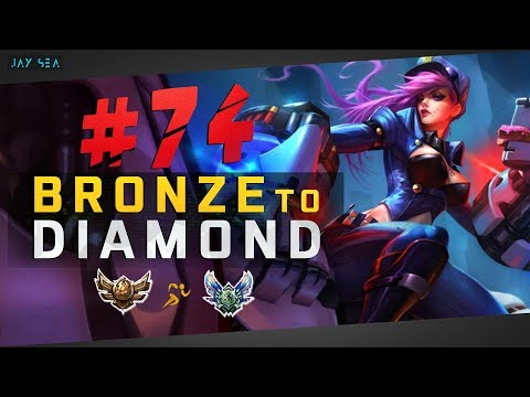 TOP LANE COINFLIP META IS HERE?   Officer Vi Jungle   Depths of Bronze to Diamond Episode #74