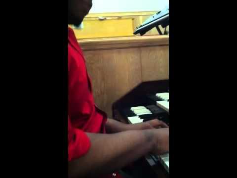 Sheldon Turner on organ