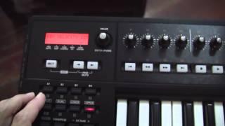 Roland A-800PRO MIDI Controller + Yamaha EMT-10 AWM module