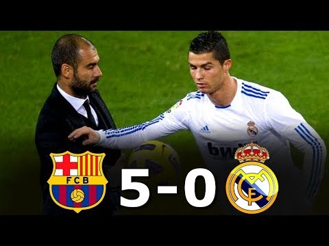 Barcelona 5 0 Real Madrid All Goals And Full Highlights