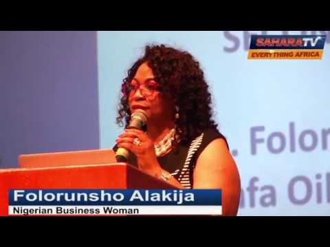 I Never Went To A University - Africa's Richest Woman, Folorunsho Alakija Brags