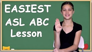 EASIEST way to learn your ASL ABCs | Slowest alphabet lesson
