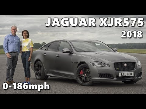 2018 Jaguar Xjr575 At 186 Mph Fastest Interview Youtube