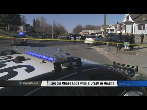 Lincoln Chase Ends with a Crash in Omaha