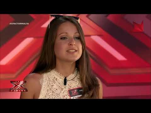 X Factor Malta  Auditions  Day 2  Tanya Bonnici