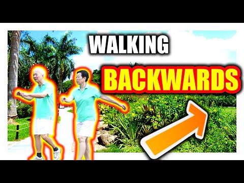 WHY Chinese people WALK BACKWARDS !!??