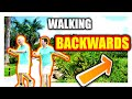WHY Chinese people WALK BACKWARDS !!??