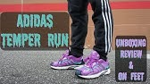 7dd6d339917 Adidas Quesence Grey Two   Shock Pink On Feet Sneaker Review - YouTube