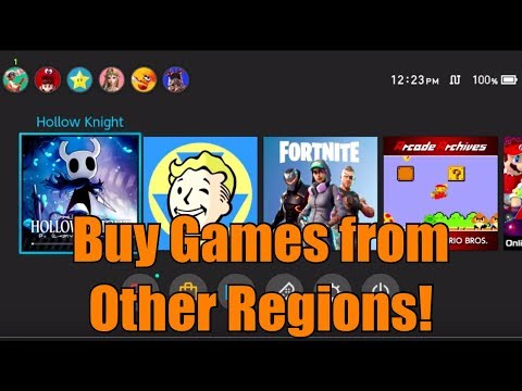 How To Buy Games From Other Nintendo Eshop Regions For Nintendo Switch