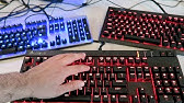 Victsing Mechanical Gaming Keyboard Overview - YouTube