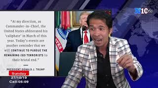 🔴28-10 Tin Nóng : TT Trump Công Bố Chi Tiết Tiêu Diệt Trùm Khủng Bố ISIS  Baghdardi