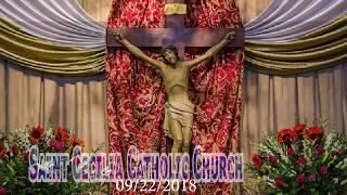 09/22/2018 Vietnamese Saturday Mass  Saint Cecilia Catholic Tustin California
