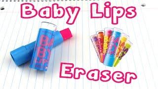 Diy Baby Lips Lip Balm Eraser
