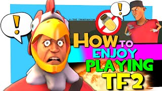 TF2: How to enjoy playing TF2 [Voice chat/COD kids plays TF2]