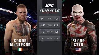 McGregor vs Blood Star (EA Sports UFC 2)