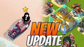 Boom Beach NEW UPDATE News! HQ 23 and New Hero ...