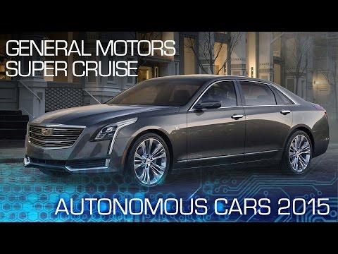 2017 Cadillac CT6 is Hands-Free Autonomous - Autonomous Cars 2015