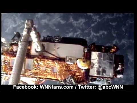 Satellite Heading Towards Earth