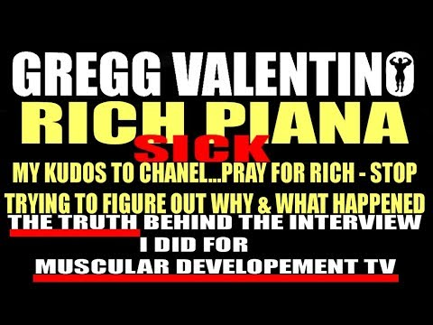 The Truth Behind My MD 'RICH PIANA illness' video with Ron Harris & Props to Chanel - Piana's GF