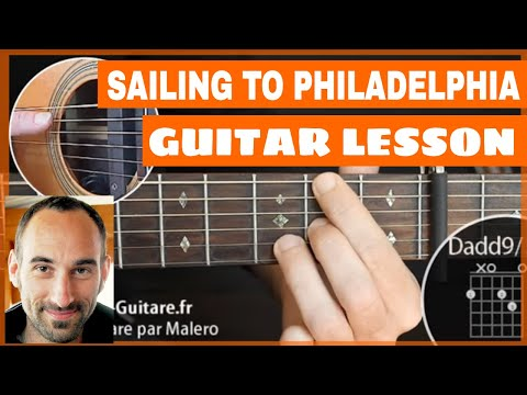 Sailing To Philadelphia Guitar Lesson - part 1 of 5